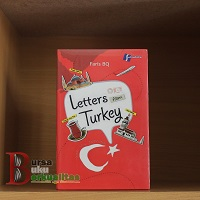 jual buku letters from turkey karya faris bq