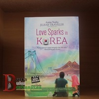 jual novel love sparks in korea karya asma nadia